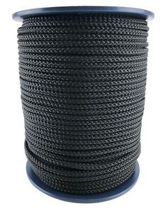 10/mm color blanco 10 m Cuerda de polipropileno negro