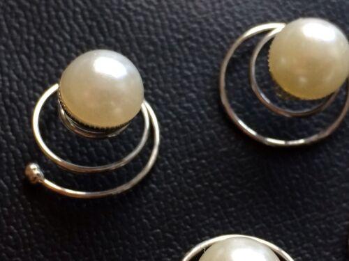 perle da sposa spille per capelli ballo Capelli Nuziale Capelli Pin Pearl capelli Curlies