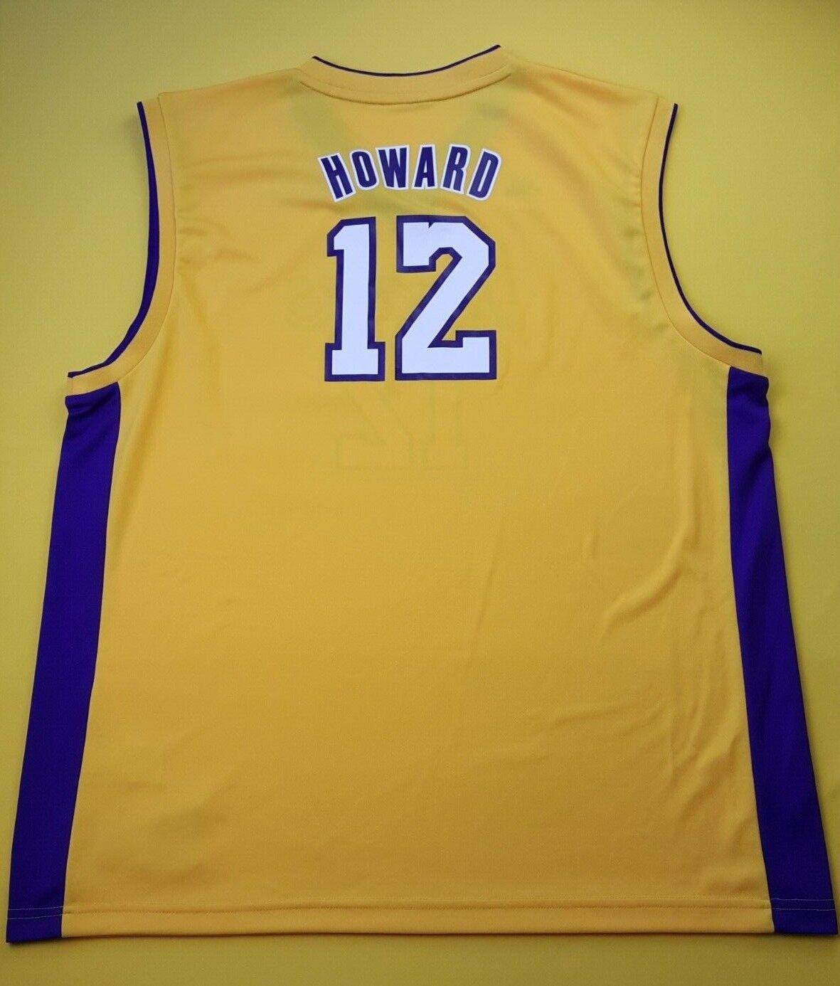 5 5 Howard Los Angeles Lakers basketball jersey NBA size 2XL Adidas ig93
