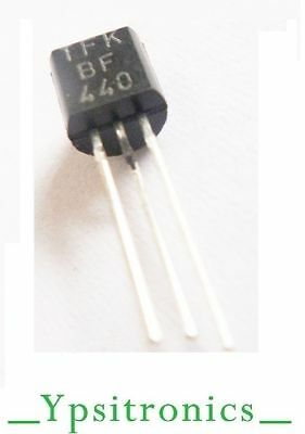 LOT x2 BF441 TRANSISTOR PNP 40V//0.025A//0.3W AM//FM 250MHZ T.F.K NEW