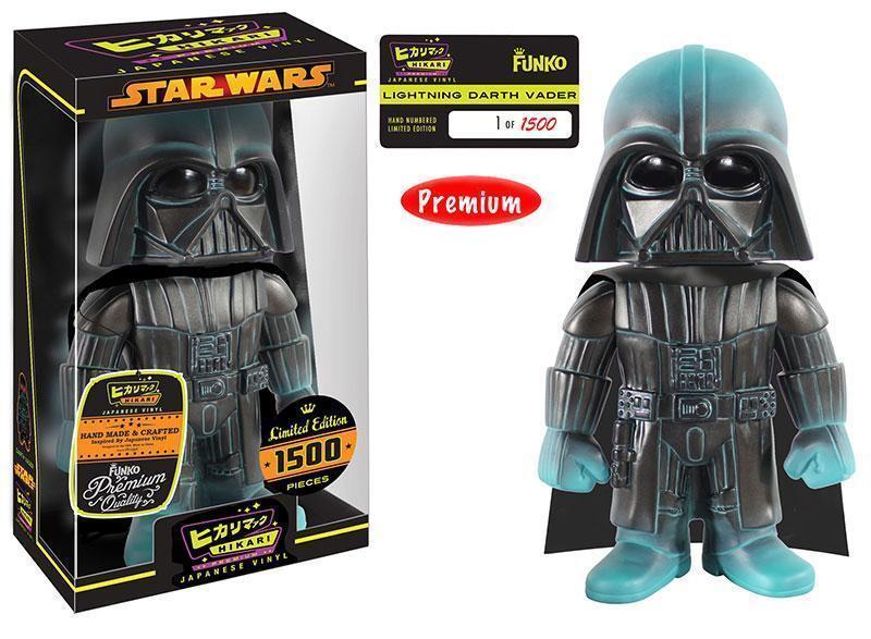 FUNKO HIKARI Darth Vader (Lightning) VINYL FIGURE Star Wars