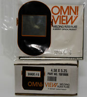 Gentex Optical Omniview® Welding Filter Plate - Shade 6 - 5.25 X 4.50