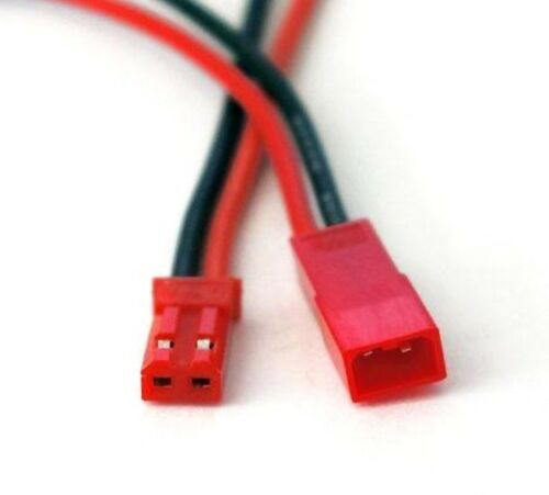 2x Male 2x Connecteur JST male Female JST connector with cables femelle
