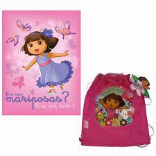 Dora The Explorer Buttons Official Sleeved Fleece Wrap Blanket