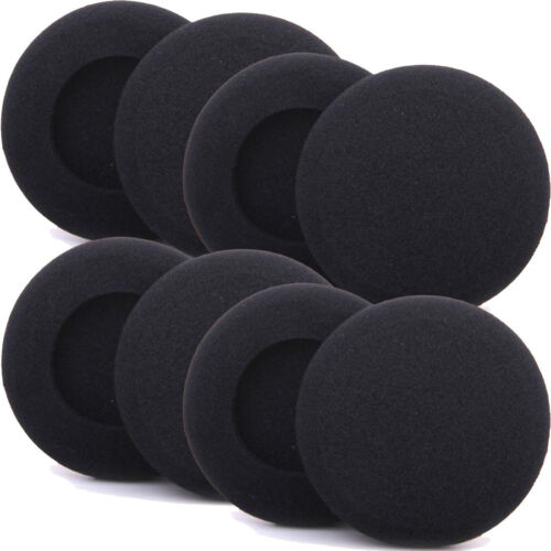 8 Replacement HeadPhone Pads 45mm Headset Earphone Foam Earpads Cup Cover