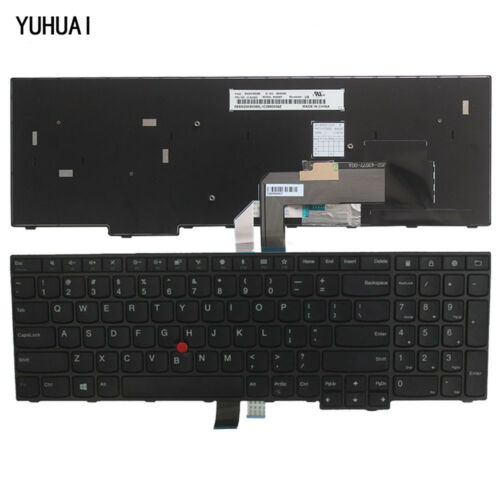 Original New For Lenovo IBM ThinkPad Edge E570 E575 US Black Keyboard 01AX160