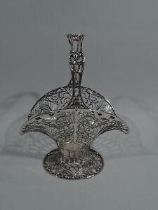 Howard-Basket-482S-Antique-Edwardian-Pierced-American-Sterling-Silver