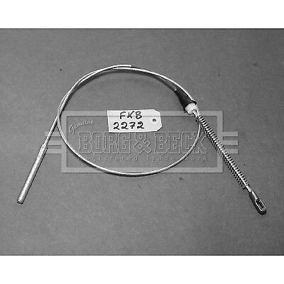 Borg /& Beck Parking Hand Brake Cable Handbrake BKB2272-5 YEAR WARRANTY