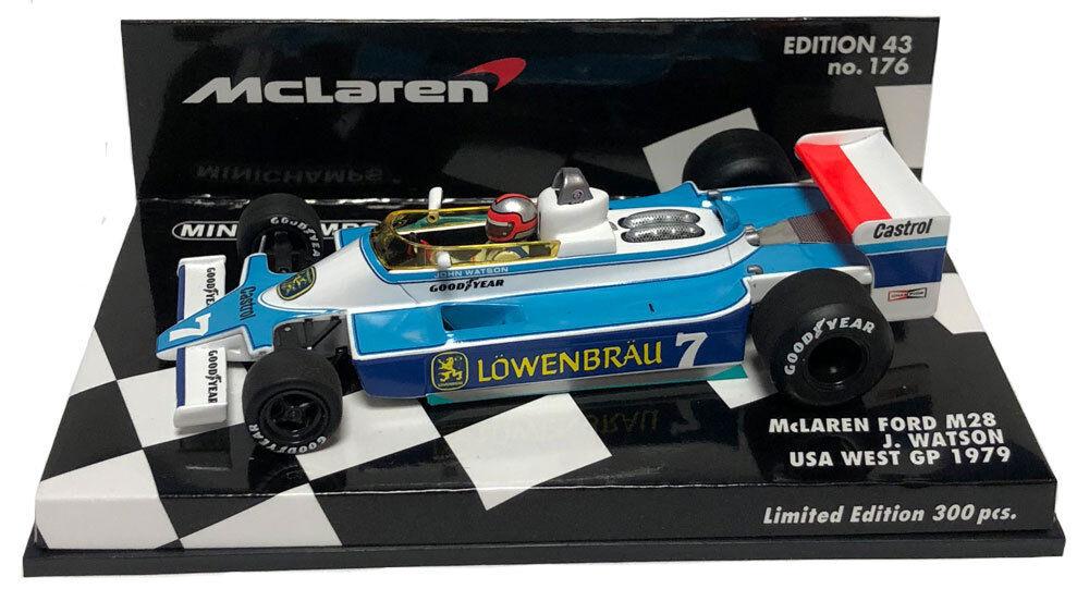 Minichamps McLaren M28 USA OVEST GP 1979-JOHN WATSON SCALA 1 43