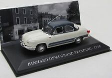 Panhard Dyno Grand Standing ( 1958 ) weiss / grau / IXO 1:43
