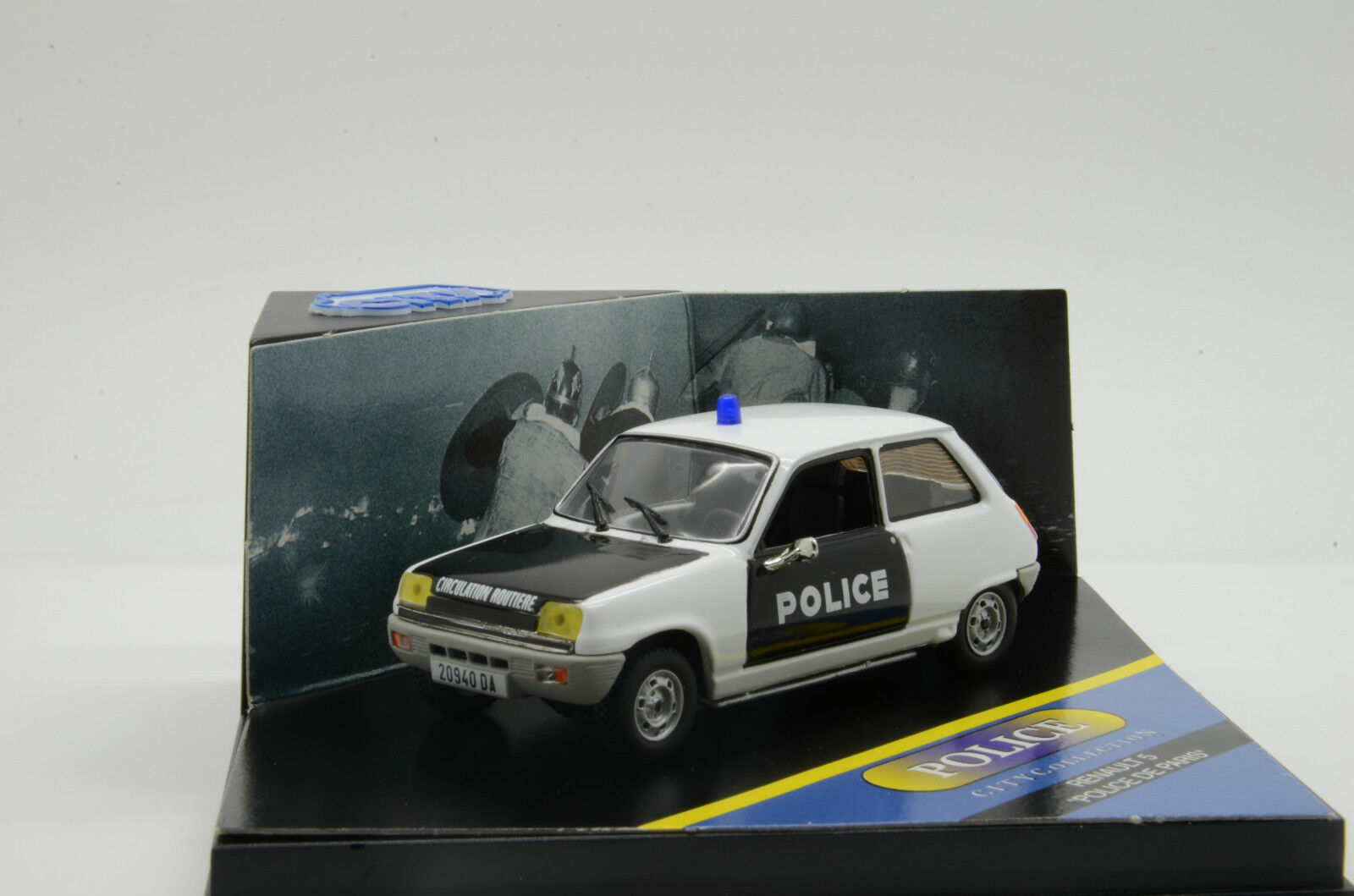 autentico en linea Raro     Renault 5 Ts policía de Paris Vitesse Ciudad cpc99001 1 43  nuevo listado