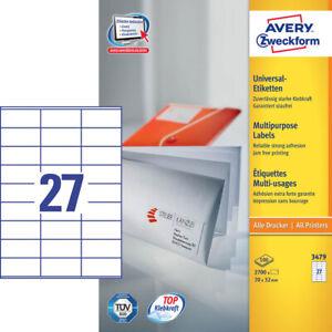 2-700-Avery-Zweckform-Etiquetas-3479-Blanco