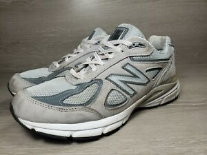 New-Balance-990-Running-Women-039-s-Shoes-Gray-White-Sz-9-D-Made-in-USA-a1