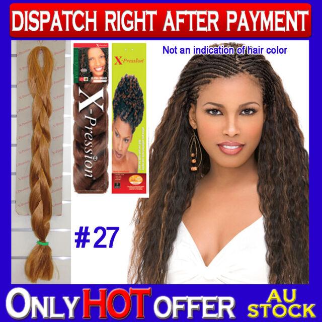 X-Pression Synthetic Dreadlocks Kanekalon Jumbo Ultra Braid Hair Extension #27