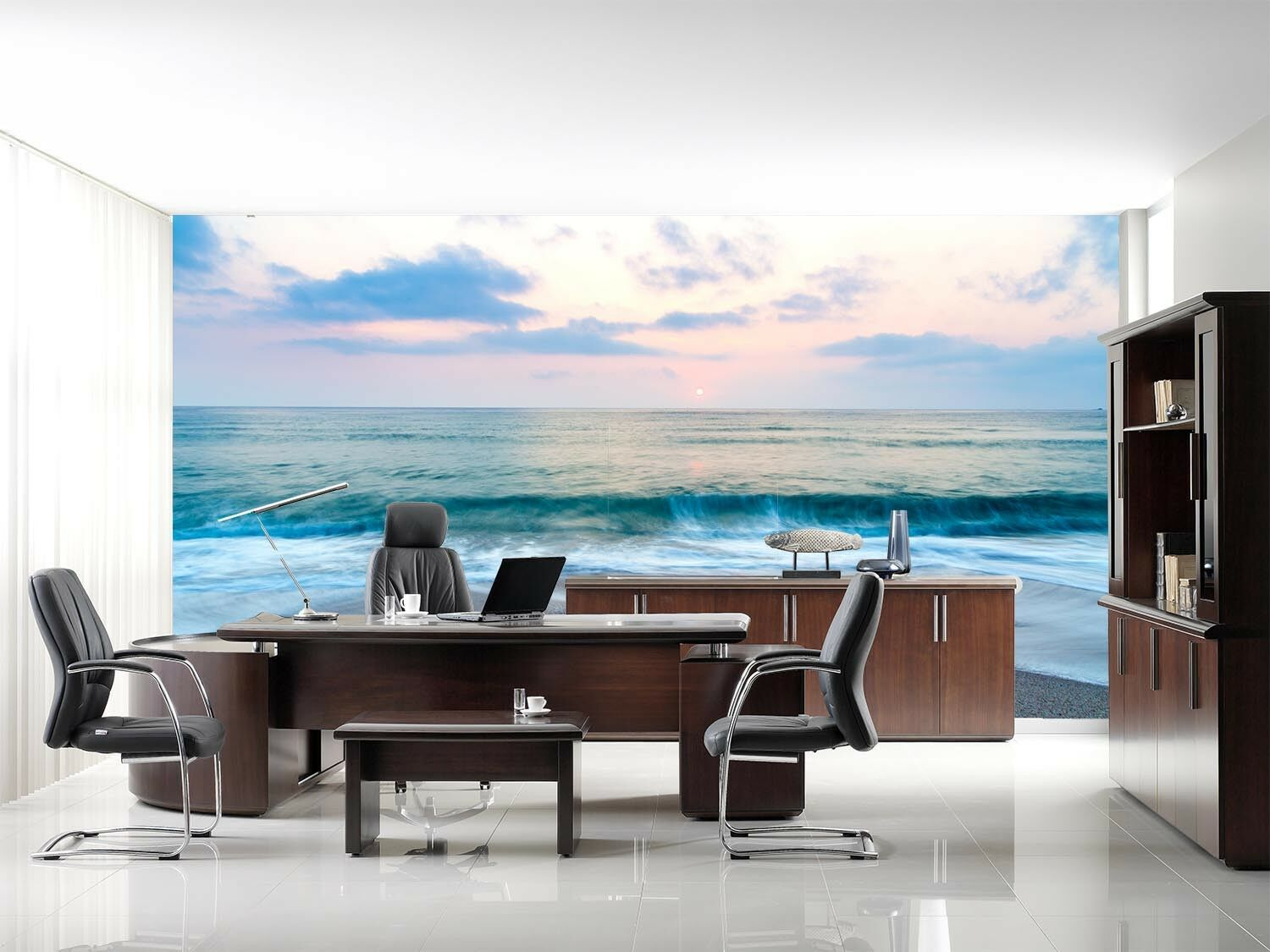 3D Wave View 4118 Wallpaper Murals Wall Print Wallpaper Mural AJ WALL UK Carly