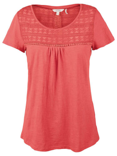 NEW RRP £36 Ex Fat Face Holford T-Shirt Coral