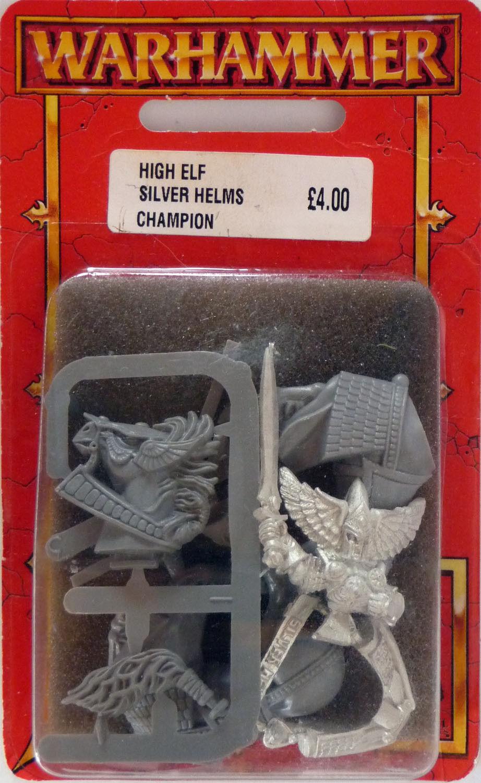 Lote de 6 Juegos taller Warhammer alto elfo plata timón Caballeros 8508 F, J, L, E