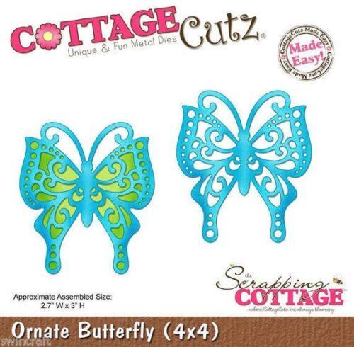 Cottage Cutz muere 3D Die recargado Butterfly-CC4x4-336 *
