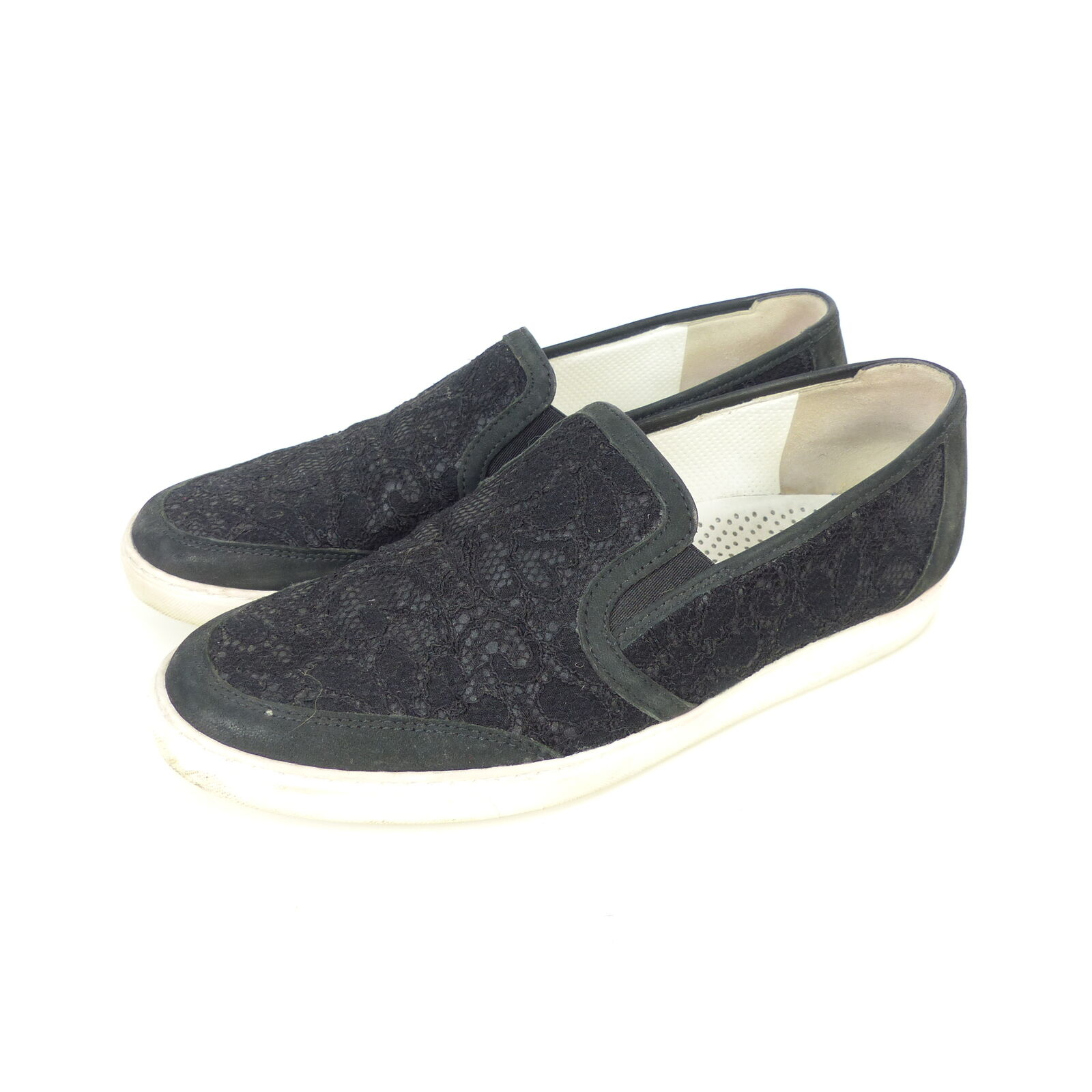 Paul Green zapatillas Slipper Gr. loafer punta negro Gr. Slipper (sr38) 2908b0