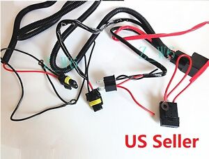 Details about Xenon H4 9003 HID Relay Wiring Harness Hi/Lo Controller on