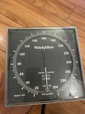 Welch Allyn Wall Mount Sphygmomanometer Blood Pressure Cuffs Gauge Only