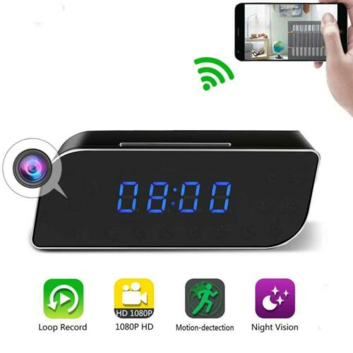 1080P HD WiFi IP Hidden Spy Camera Video Recorder Wireless Security IR Cam P9K5