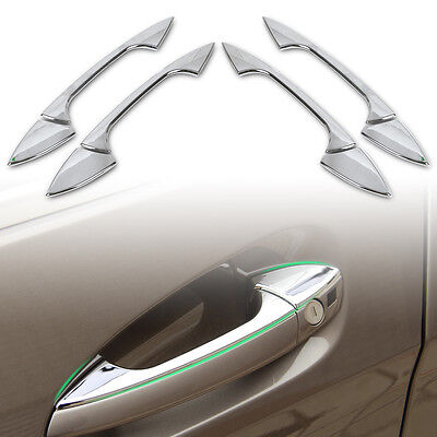 Chrome Door Handle Cover Trim for Benz C E GLK ML CLA Class W166 W117 W212
