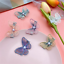 Embroidery Butterfly Hair Clip Hair Grip Hairpins Barrette Jewelry Women Girl