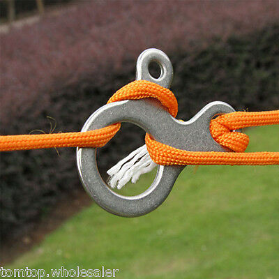 3 Holes Multipurpose Camp Knot/Fasten/Pack Quicklinks tool Xtools Carabiner New