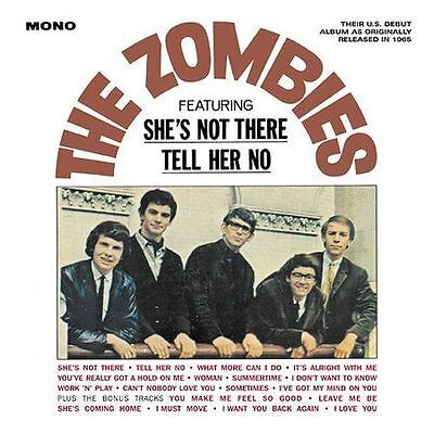 The Zombies (Featuring She's Not There and Tell Her No) by The Zombies (CD,...