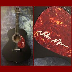 GFA Good Time & Paradise to Me NIKO MOON Signed Acoustic Guitar PROOF N1 COA