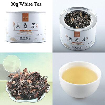30g FuDing White Tea 2013 Lao Shou Mei QS Certification Old Loose Leaf Bai Cha Q