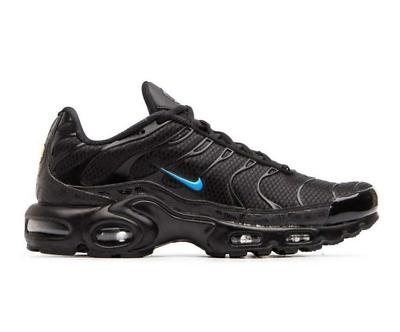 Nike Air Max Plus Tuned Adulti TN SE UK 6.5 EU 40.5 Black & Blue Sneakers | eBay