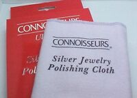 Connoisseurs Ultra-soft Silver Jewelry Polishing Cloth Large 11 X 14