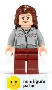 hp121 Lego Harry Potter 10217 - Hermione Gray Sweater Minifigure - New
