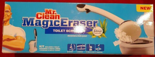 MR CLEAN Magic Eraser Toilet Scrubber Refills 10pc box