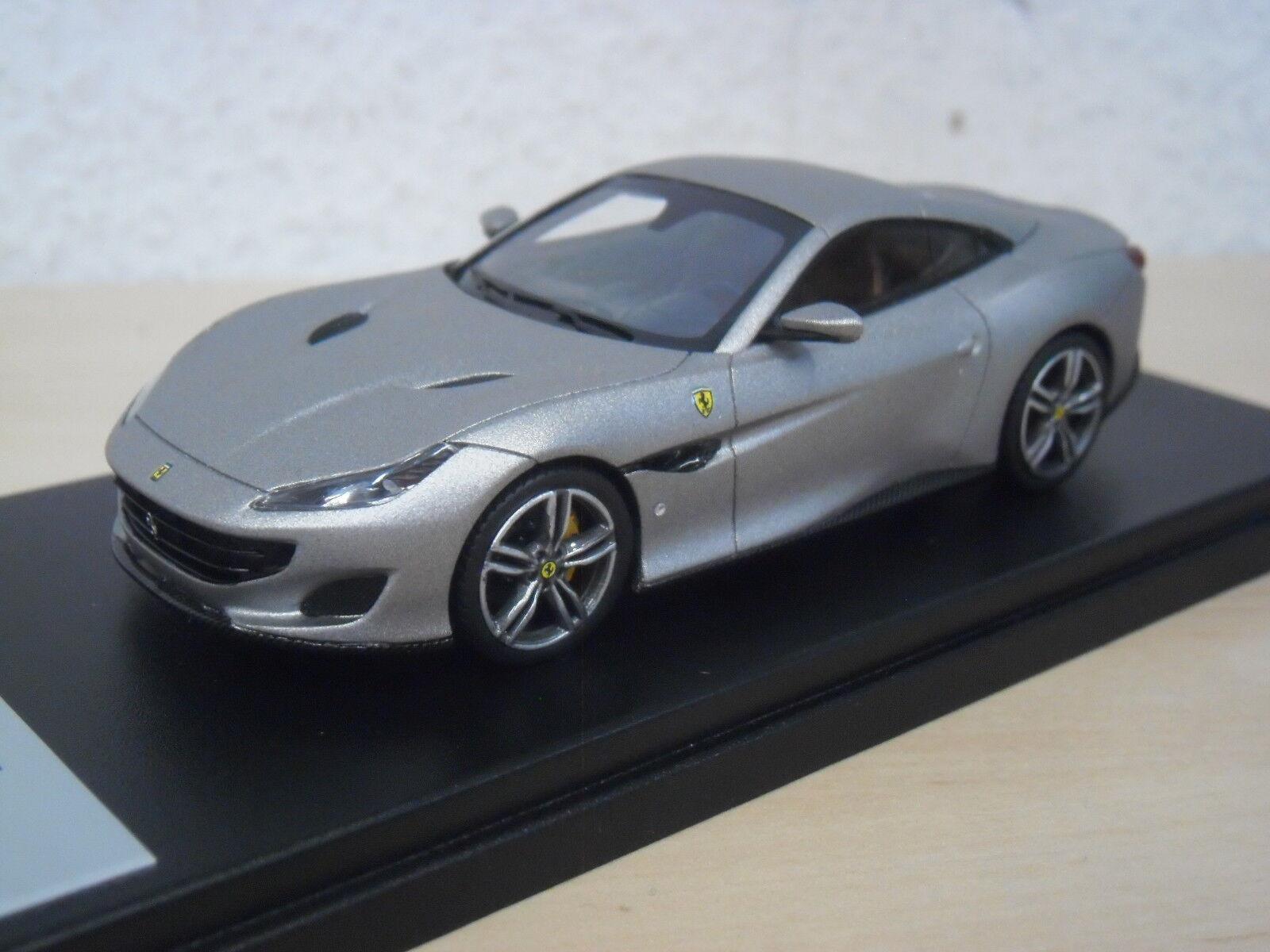 LookSmart - Ferrari Portofino - matt grey grey grey   Alluminio Opaco - LS480B - 1 43 604bd2