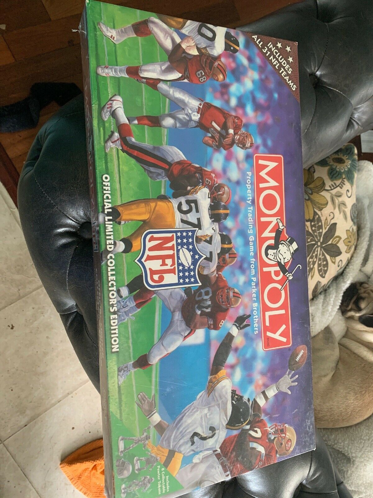 Monopoly NFL Official Limited Collector's Edition 31 Teams Parker Bredhers NWOT
