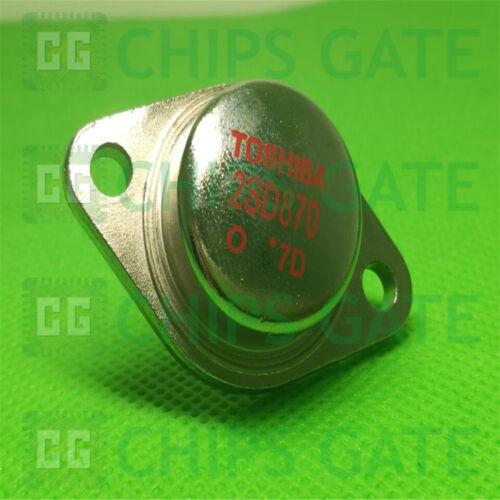 5PCS Transistor TOSHIBA TO-3 2SD870 D870