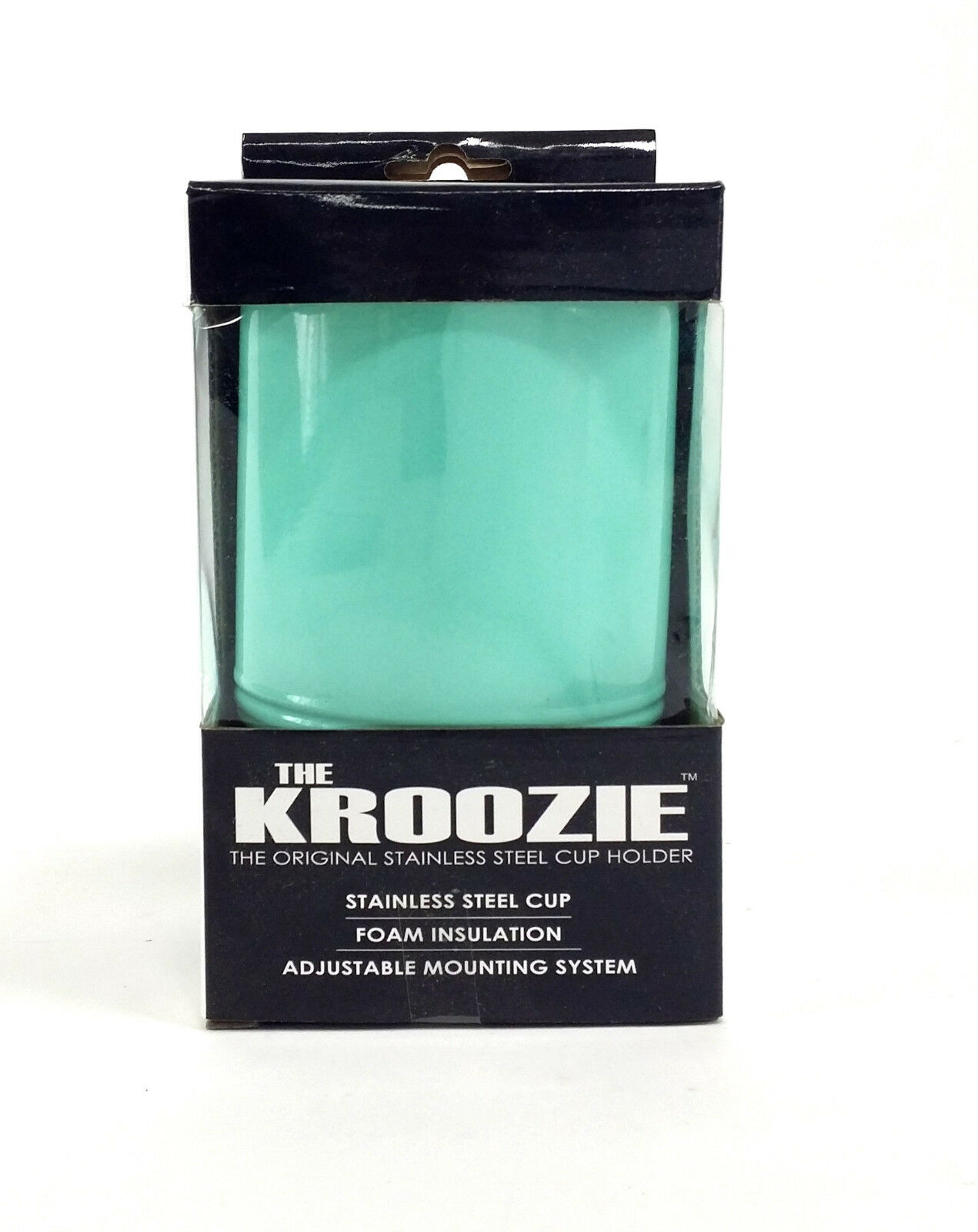 The Kroozie 2.0 Bicycle Cup Holder Seafoam Bike