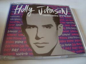 RAR-MAXI-CD-HOLLY-JOHNSON-LEGENDARY-CHILDREN-5-TRACKS-MADE-IN-SPAIN