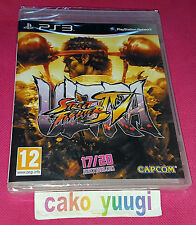 ULTRA STREET FIGHTER IV SONY PS3 NEUF SOUS BLISTER VERSION 100% FRANCAISE