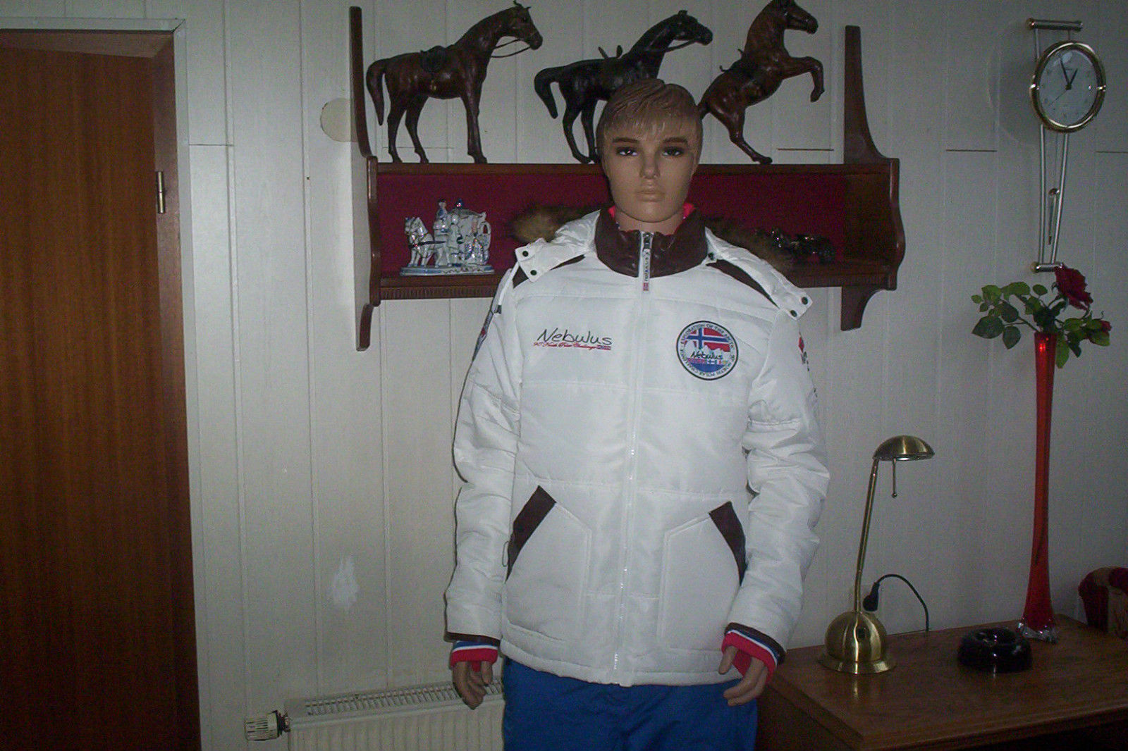 Giacca Sci Taglia XXL Uomo Giacca Invernale Design Nebulus nuovo norvegesi Cappuccio