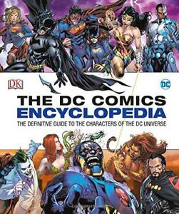 DC-Comics-Encyclopedia-Updated-Edition-by-DK-Hardcover-Book-9780241232613
