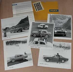 36a notice presse 1963 fiat 500 600 2300 2300 s coup 1600 s cabriolet ebay. Black Bedroom Furniture Sets. Home Design Ideas