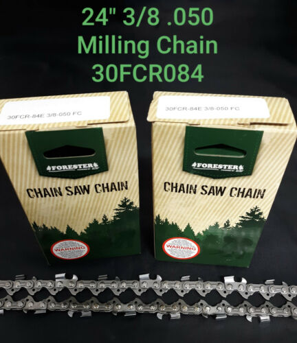 """2 PACK 24/"""" Forester 30FCR084 STIHL MS391 MS 391 Ripping Milling Chainsaw Chain"""