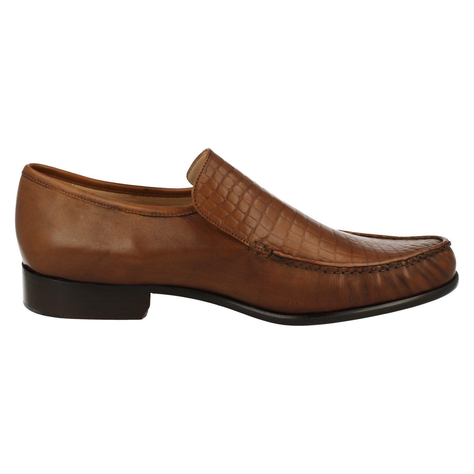 Scarpe Scarpe Scarpe casual da uomo  uomos Grenson FeatherMaster MONTANA brown leather slipon 53669a