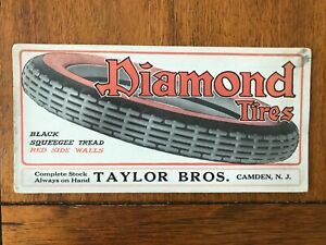 Diamond Tires ink blotter - Camden, New Jersey
