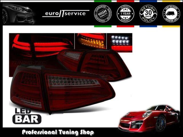 FEUX ARRIERE ENSEMBLE LDVWG5 VW GOLF 7 2013- RED SMOKE LED BAR