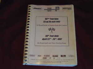 Original-Tourbuch-56th-Paris-Biarritz-1997-Race-Roadbook-Porsche-911-Oldtimer